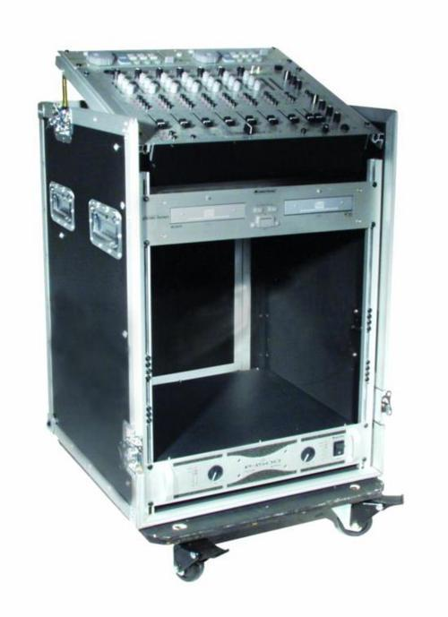 Foto EUROLITE 30110001 Flight-case 10 + 12 Units Top Mixer