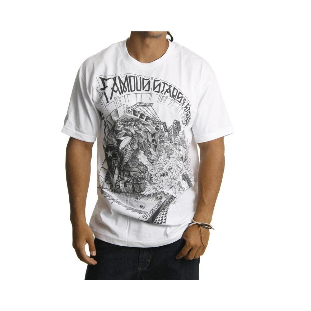 Foto Famous Stars and Straps Camiseta Famous Stars & Straps: RS KAOS WH Tal