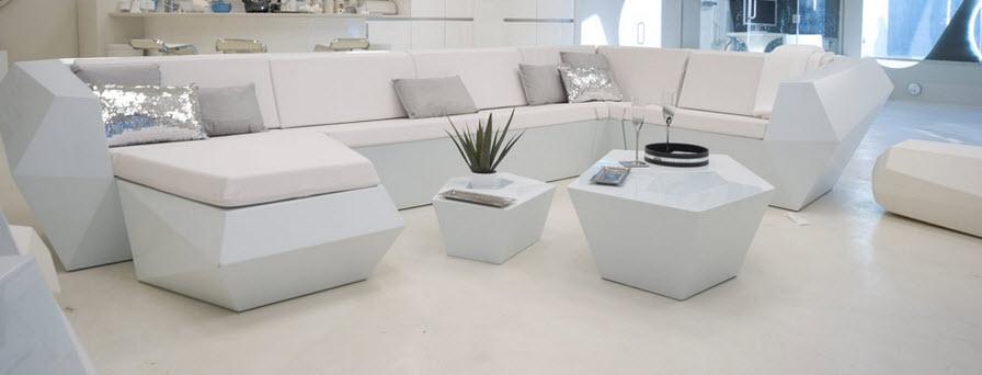 Foto vondom stone sofa negro mate foto 212165 for Muebles de casa net