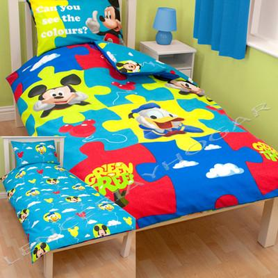 Funda Nordica Mickey Y Minnie 150.Foto Funda Nordica Mickey Y Minnie Puzle Reversible Cama 90
