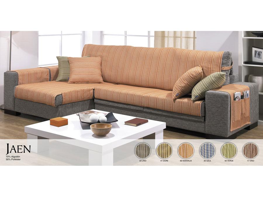 Foto funda sofa chaise longue jaen foto 344907 - Fundas de sofa con chaise longue ...