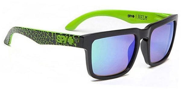 Foto Gafas de Sol Spy HELM Spy + Ken Block Assault - Grey W/Green