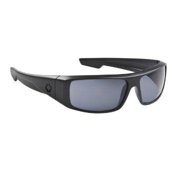Foto Gafas de Sol Spy Logan matte black - grey polarized