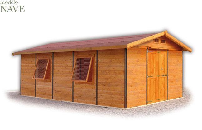 Foto garajes madera garaje 7 5 foto 457849 - Garajes prefabricados de madera ...