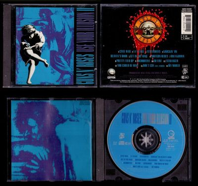 Foto Guns N' Roses - Use Your Illusion Ii - Spain Cd Geffen 1991 - 14 Tracks