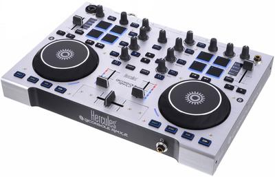 Foto mesa de mezclas hercules dj console rmx 2 2 decks for Mesa de mezclas dj