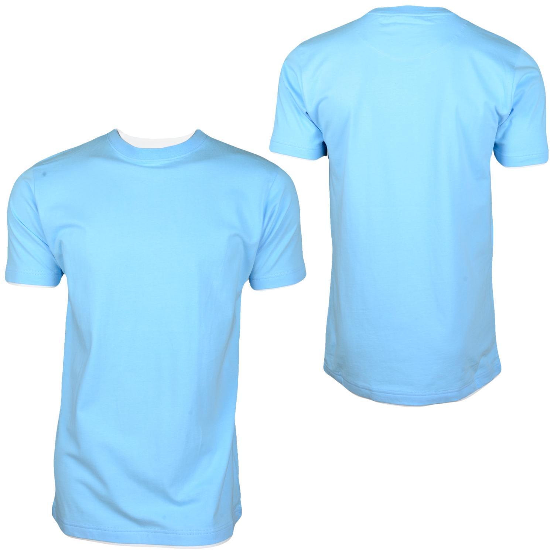 Foto Hoodboyz Contrast Camisetas Altos Azul Claro foto 126936