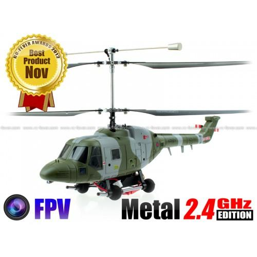 Foto Hubsan H201F Westland Lynx FPV Coaxial 4CH RC Helicopter R... RC-Fever