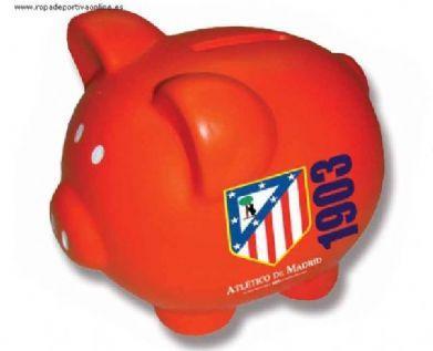 Foto Hucha del Atlético de Madrid cerdito de cerámica foto 646457 41d881e319755