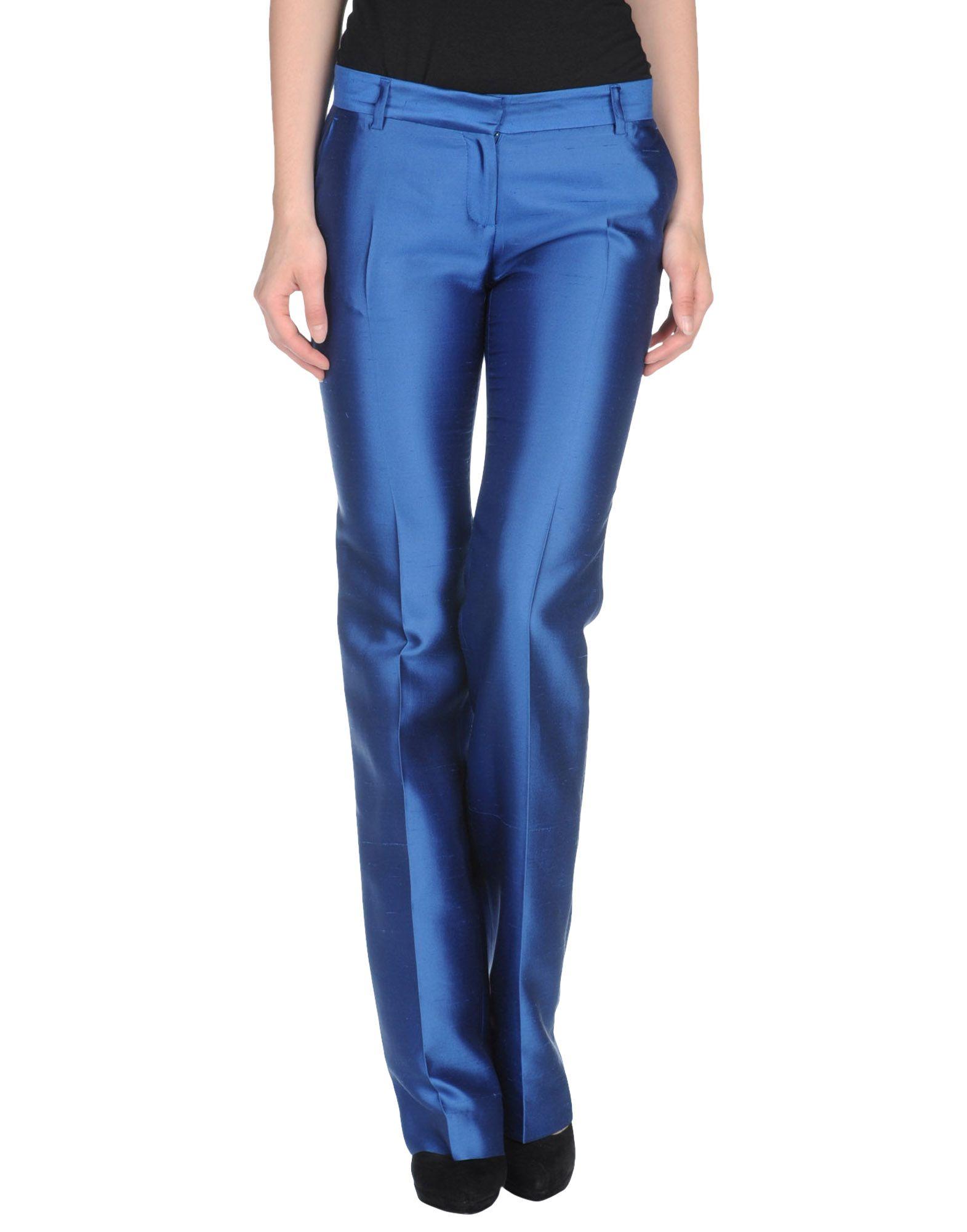 buena calidad disponible originales Foto John Richmond Pantalones De Vestir Mujer Azul marino ...