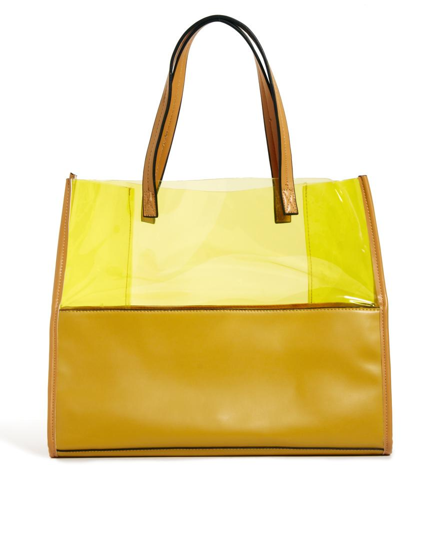 Foto Johnny Loves Rosie Tote Bag Yellow