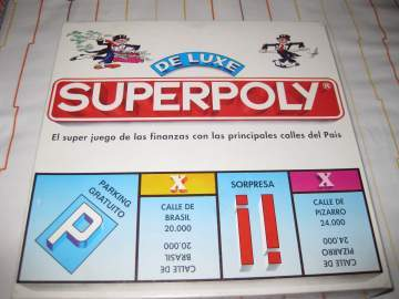Foto Juego De Mesa Superpoly De Luxe De Falomir Juegos Anos 80