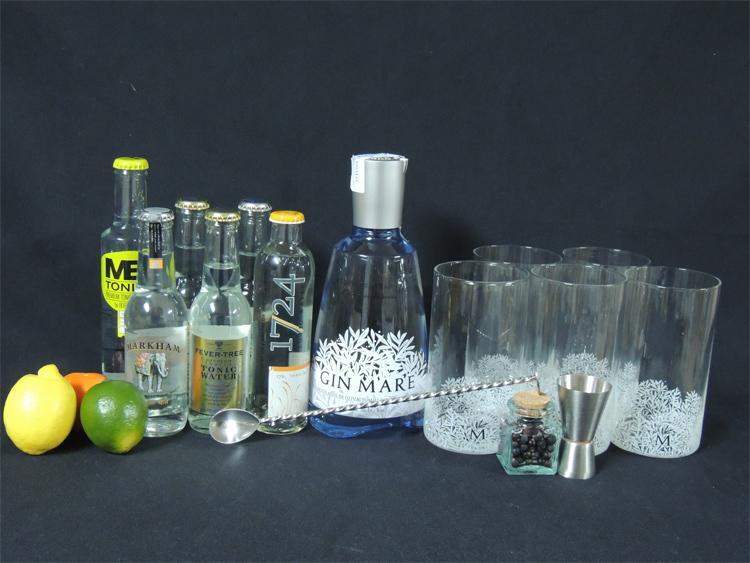Foto Kit de cata de Gintonic Gin Gin Mare foto 87329