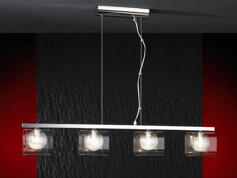 Foto l mparas modernas colecci n eclipse colgante de 4 luces foto 94671 - Como hacer lamparas de techo modernas ...