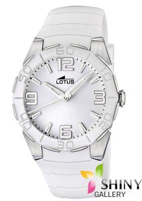4484f988f17d Foto Lotus Cool 15702 1 Reloj Correa Caucho Blanco Para Mujer Nuevo  Garantia 2 Años foto 956927