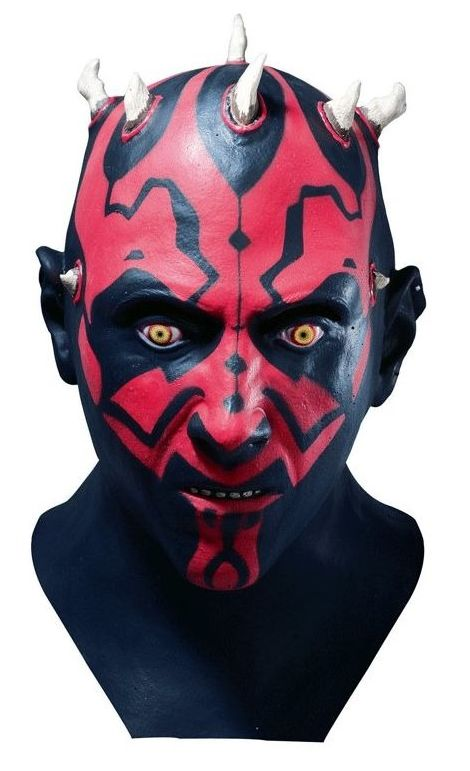 Foto Máscara de Darth Maul TM para adulto