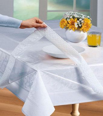 foto mantel protector de mesa transparente foto 106647