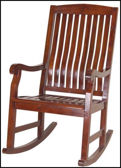 Foto mecedora madera teka import foto 140531 for Mecedora de madera