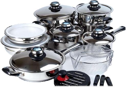 Foto olla programable erika plus bateria de cocina for Menaje para cocina