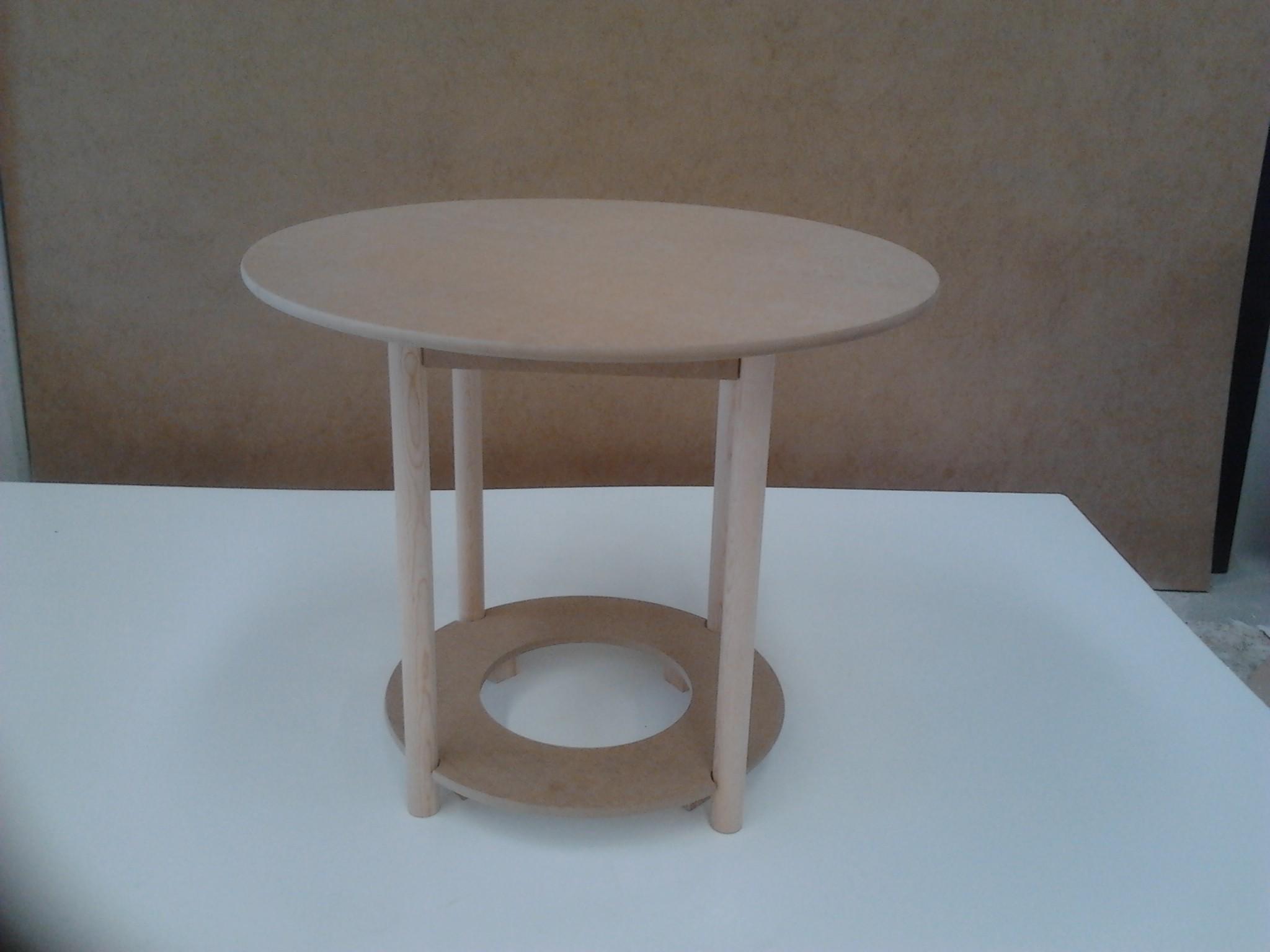 Foto mesa camilla redonda 80 cms dm foto 531072 - Mesa camilla redonda ...