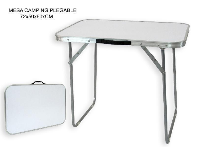 Foto mesa camping plegable 80x60x70cm 81048 foto 382809 for Mesa plegable camping
