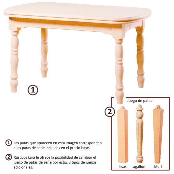 Foto mesa tokio extensible tapa 4 cm madera 90x90 cm for Mesa comedor 90x90 extensible