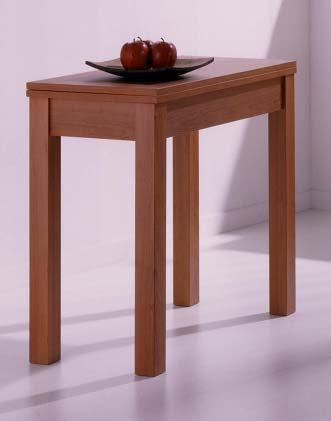 Foto mesa libro de 90x90 extensible a 180x90 en color ceniza modelo foto 57271 - Mesa extensible color cerezo ...