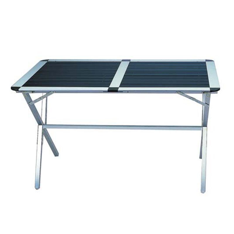 Foto mesa de camping maleta 4 sillas de camping foto 450892 for Mesa de camping plegable de aluminio