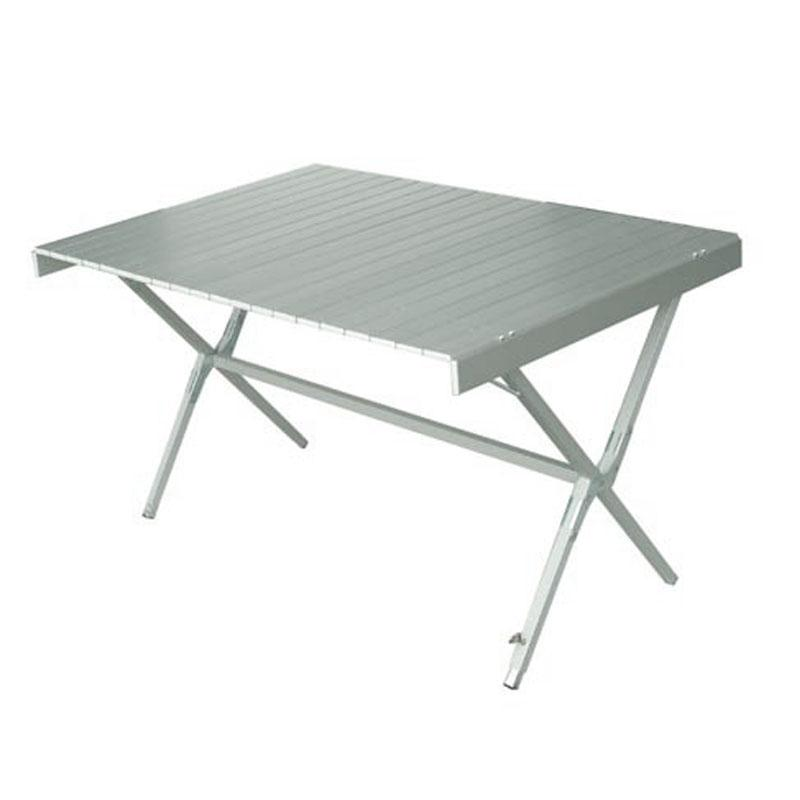 Foto mesa de camping roller 6 plegable aluminio foto 450897 for Mesa de camping plegable de aluminio