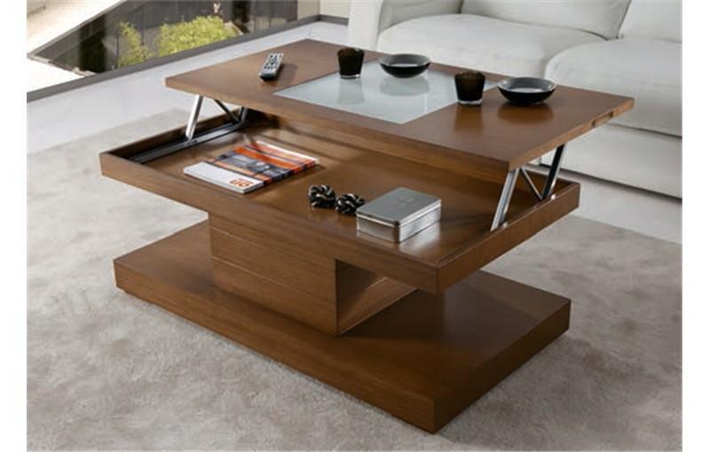 Foto mesa de centro elevable lisboa foto 749532 - Mesita salon elevable ...