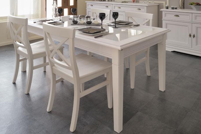 Foto mesa de comedor barata elise foto 360908 for Sillas madera baratas