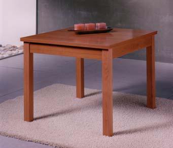 Foto mesa de comedor extensible lacada blanca foto 41062 for Mesa comedor 90x90