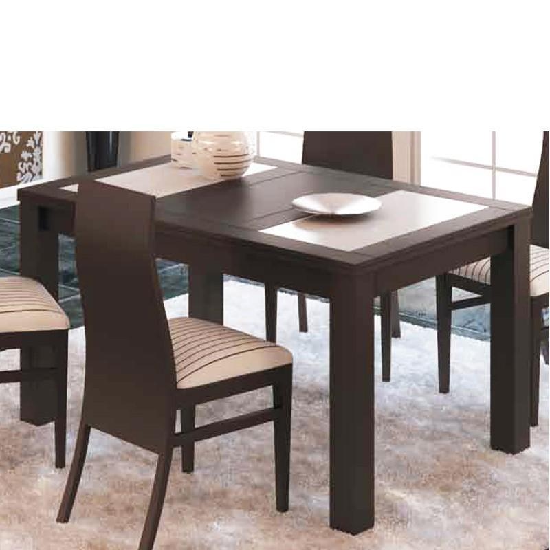 Mesa de comedor extensible de madera de pino car - Mesas comedor extensibles madera ...