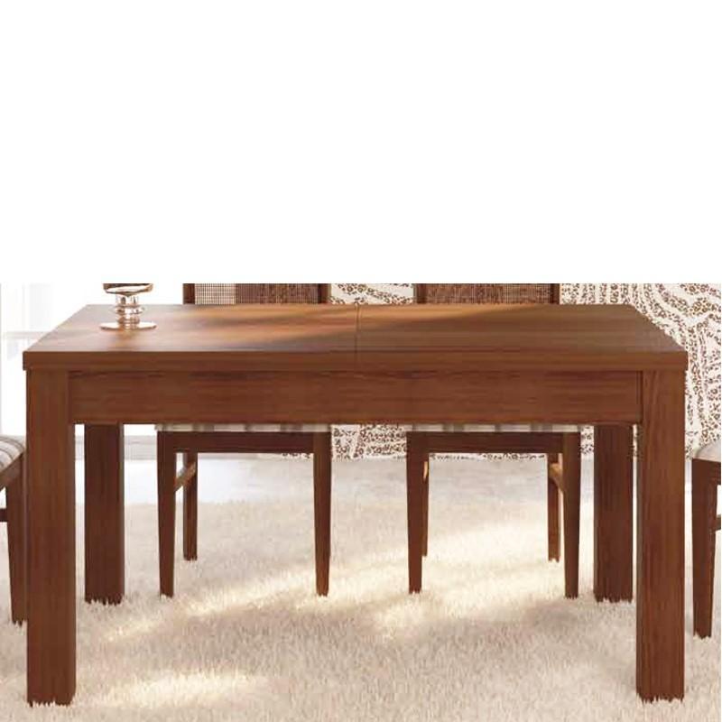 Mesa de comedor extensible madera pino car interior design - Mesas de comedor de madera extensibles ...