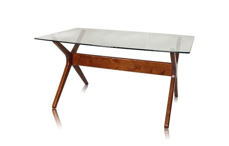 Foto mesa de comedor rectangular oslo foto 882030 for Mesa comedor rectangular