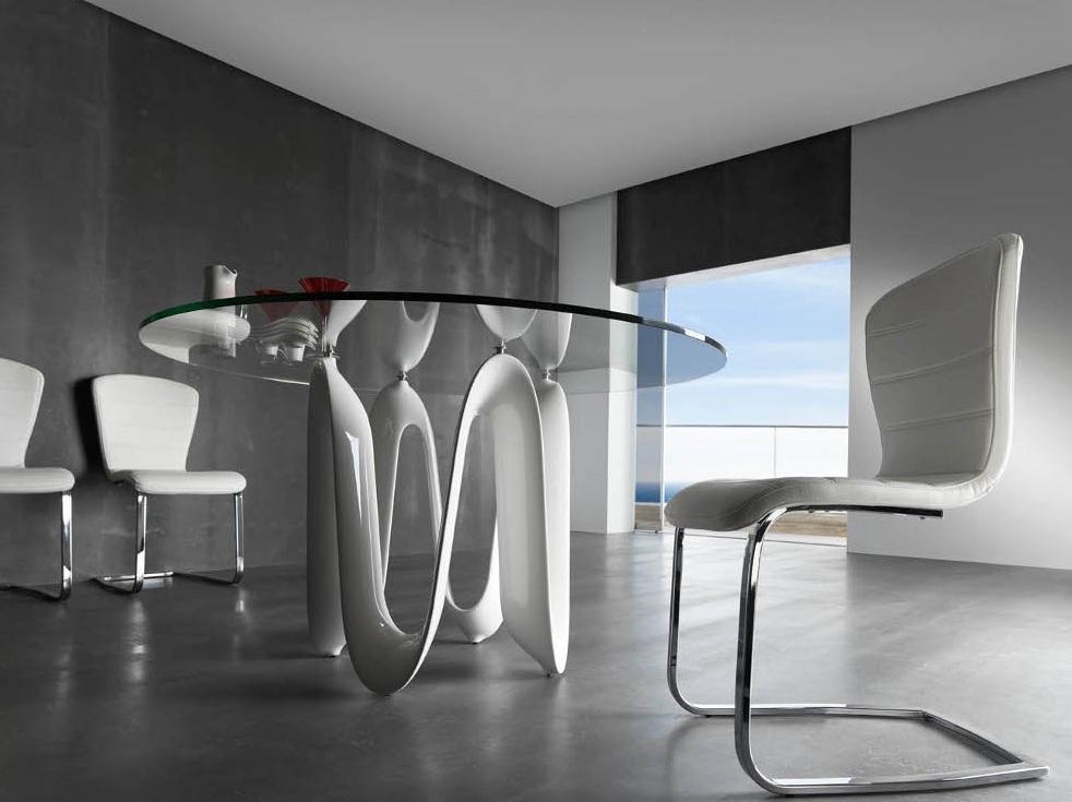 Foto mesa de comedor redonda hai foto 360899 for Mesa redonda de comedor