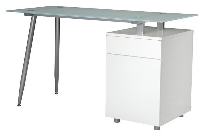 Foto cabecero tapizado blanco barato foto 745742 for Mesa de ordenador blanca