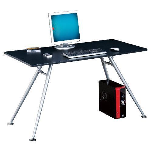 Mesa de ordenador en cristal delta gran dise o soporte - Mesa ordenador cristal ...
