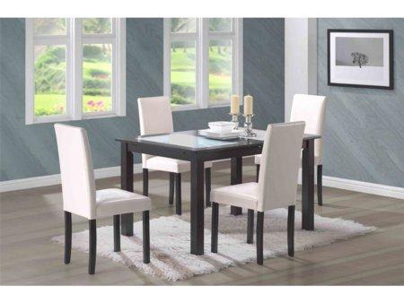 Foto mesa extensible de comedor con sillas foto 30210 for Salon rexel