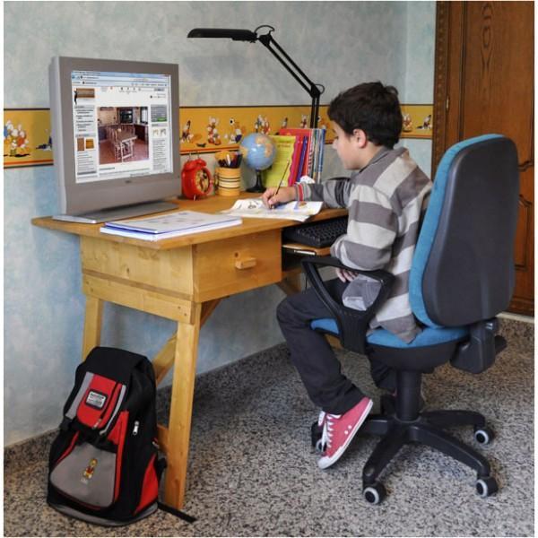 Foto mesa plegable de ordenador de madera de pino insignis for Mesa plegable para ordenador
