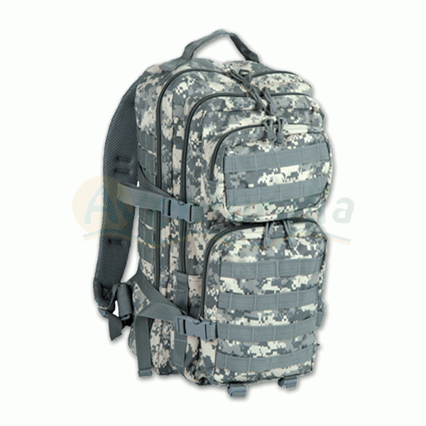 Foto Mochila MIL-TEC modelo 'Assault' de 50 litros de color AT Digital