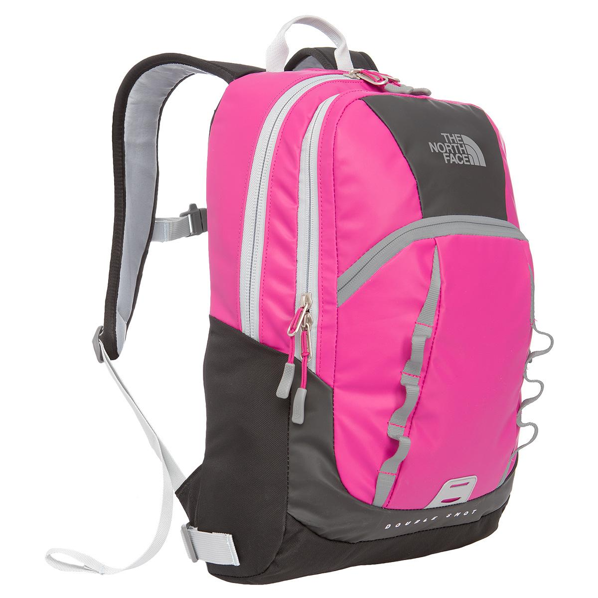 Foto Mochila pequeña The North Face Base Camp Double Shot gris/rosa p
