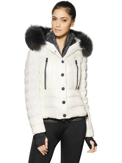 Foto moncler grenoble chaqueta nylon plumas capucha piel for Castor grenoble