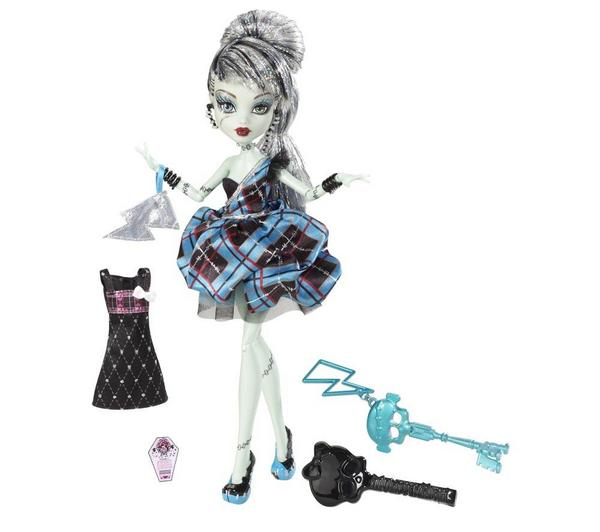 Foto Monster High Vestido de noche Frankie Stein + Monster High - Hair stu foto 604052