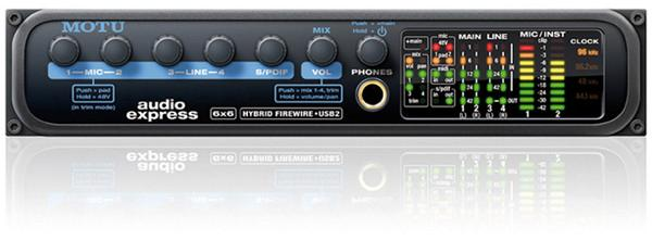 Foto Motu AUDIO EXPRESS HYBRID. Interface de audio firewire