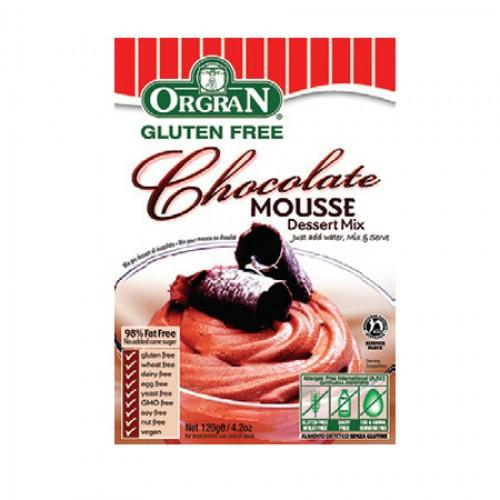 Foto Mousse de chocolate 120 gr (Orgran)