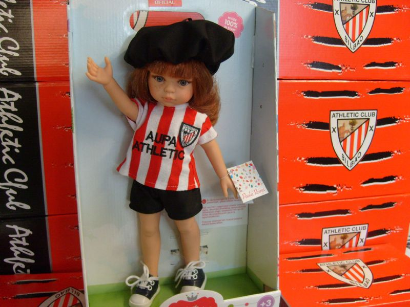 Foto Muñeca modelo del Athletic Club de Bilbao.
