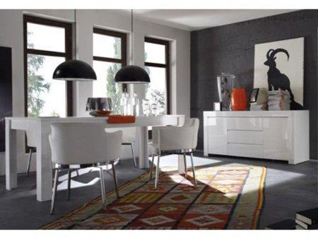 Foto mueble para tv de sal n en blanco alto brillo foto 395738 for Akasa muebles