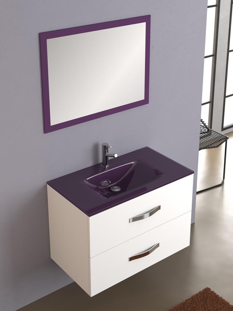 Foto mueble de ba o deva 80 blanco de torvisco con lavabo for Mueble bano con lavabo
