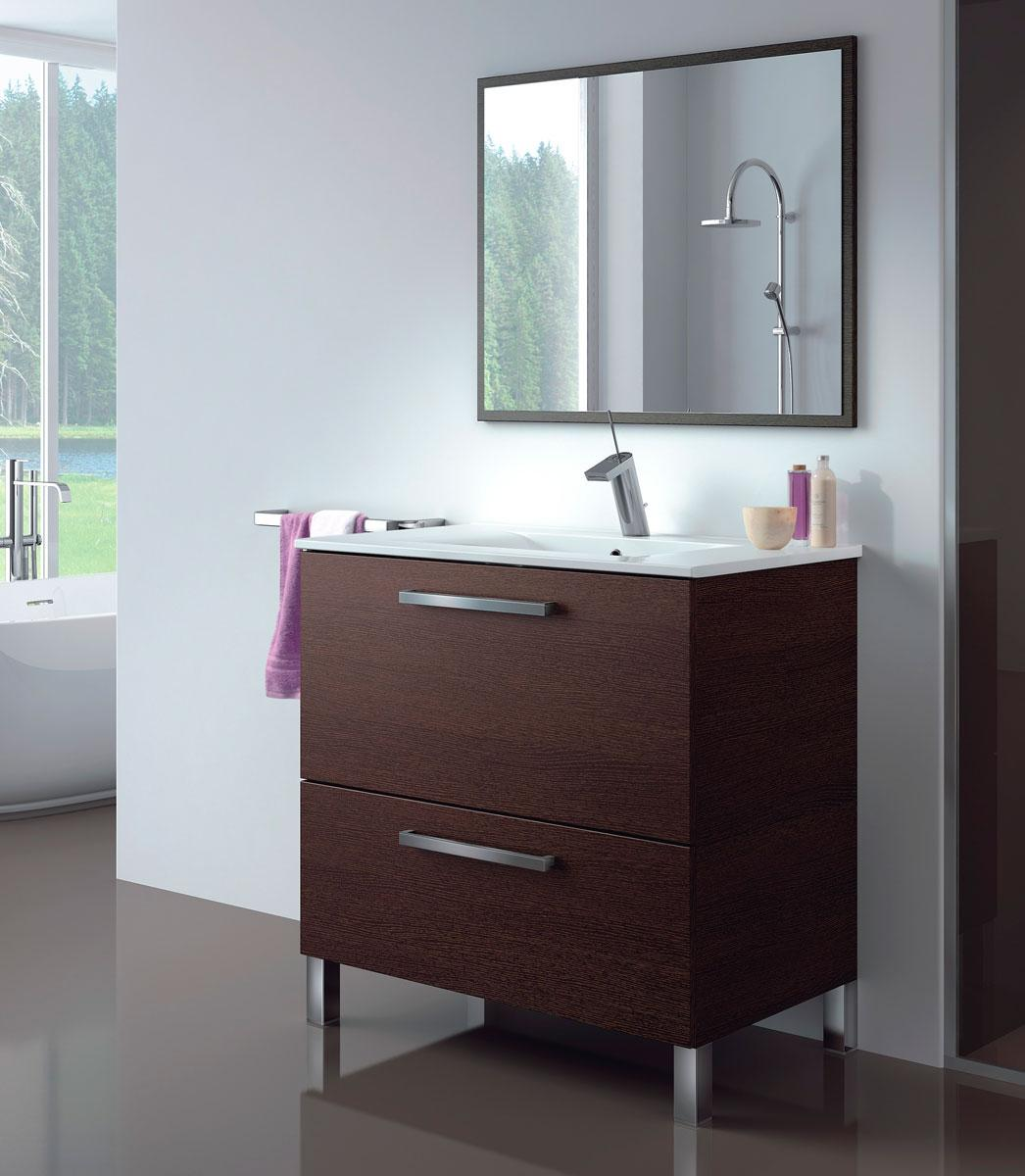 Muebles Para Baño Wengue:mueble-de-baño-en-kit-urban-80-en-wengue-los-mejores-muebles-de-baño